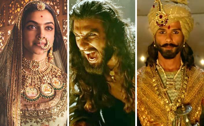 Cast as Padmavati, Khalji, Ratan Sen