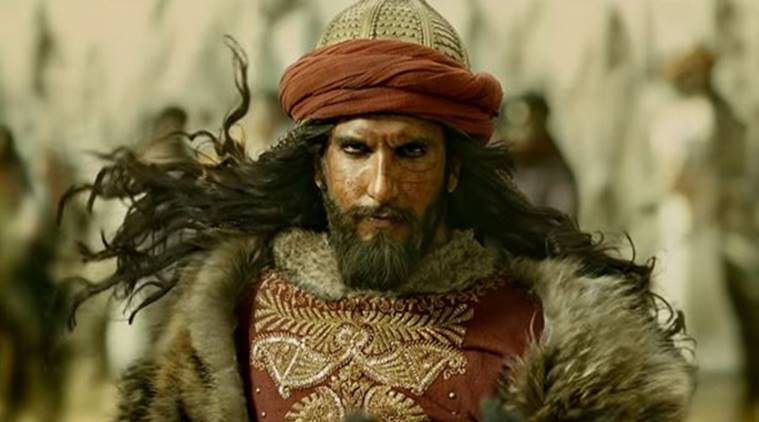 Ranveer Singh as Alauddin Khalji